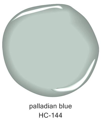 Blue paint