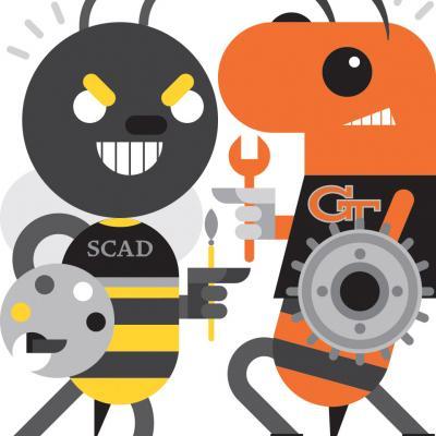 SCAD Georgia Tech Mascots