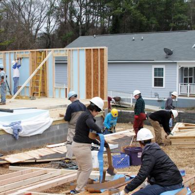 Clark Howard and Habitat for Humanity