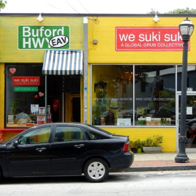 We Suki Suki is merging with the Urban Cannibals space to become EAV's own food hall