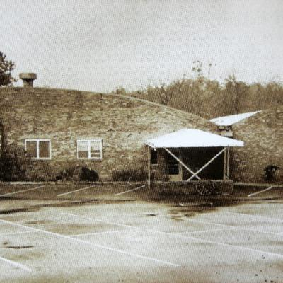 The original building before the renovation