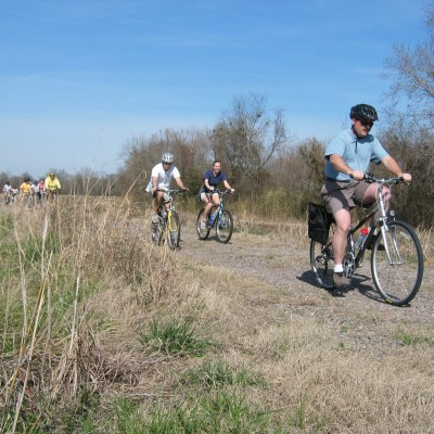 Bike tour of Phinizy Swamp Nature Park