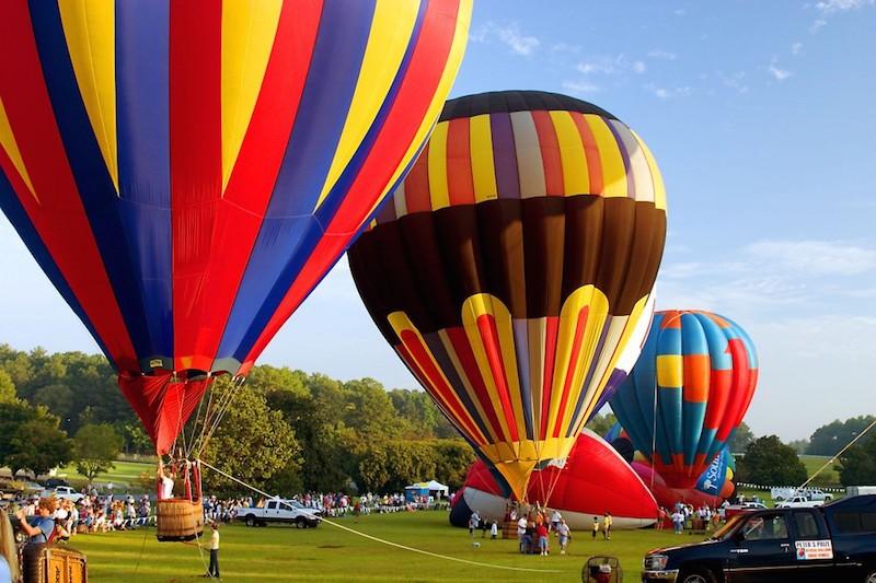 Sky High Balloon Festival at Callaway Gardens