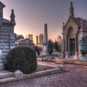 Photo by Ren Davis, courtesy of Oakland Cemetery