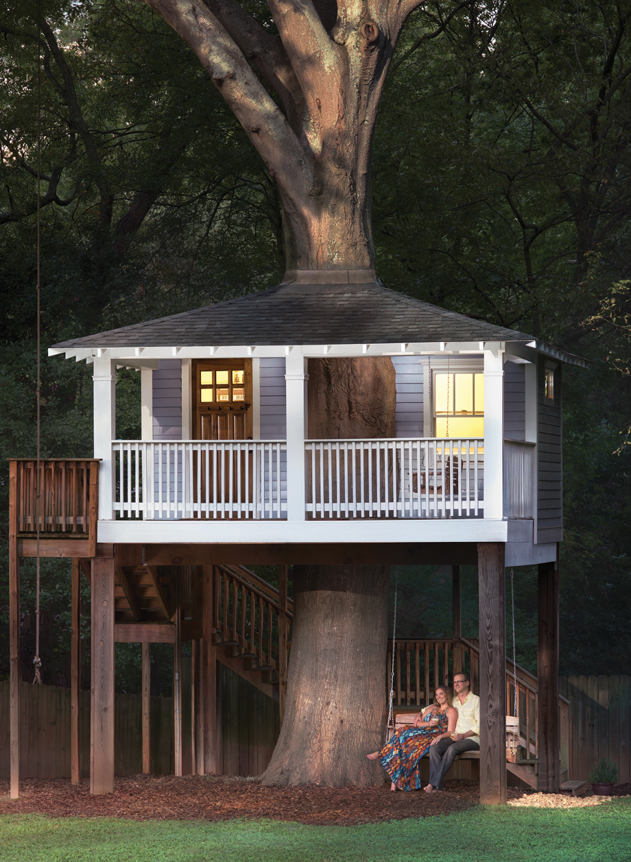 room envy: this candler park tree house is a zen meditation room