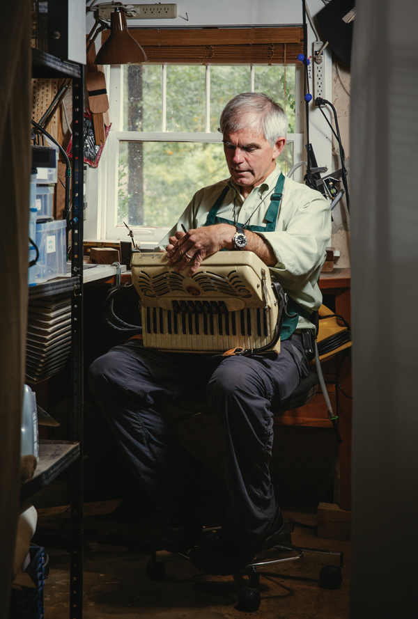 Meet Jack Brantley, Atlanta's longest-practicing accordion repairman