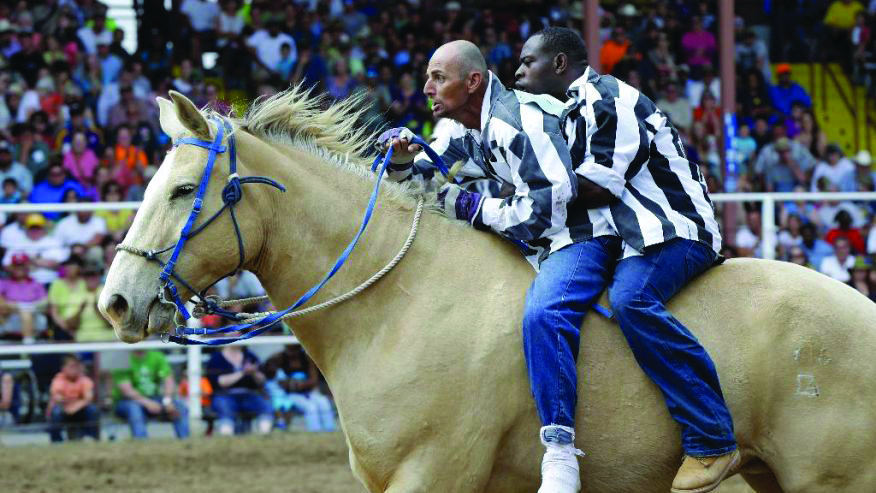 The famed Angola Prison Rodeo takes place every weekend in October.