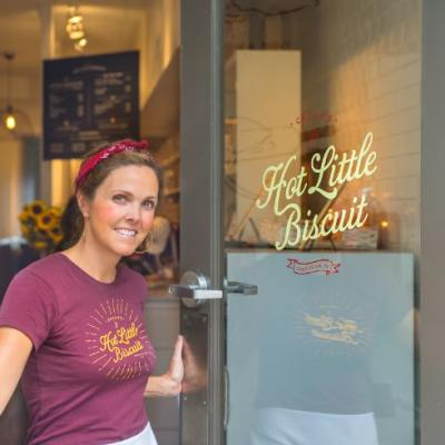 Callie's Hot Little Biscuit founder Carrie Morey
