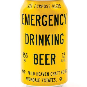 Emergency Drinking Beer