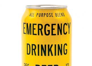 Emergency Drinking Beer