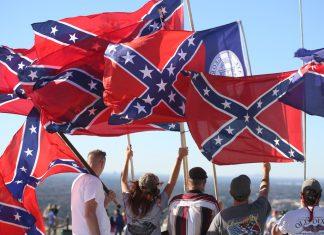 'Defend Stone Mountain' rally