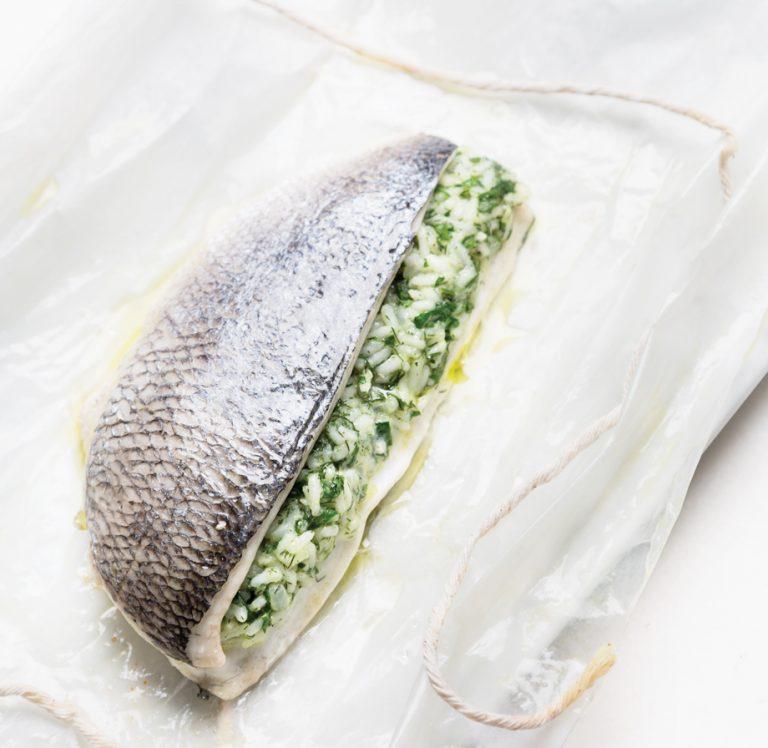 Technique: Kyma's Pano I. Karatassos on making fish en papillote