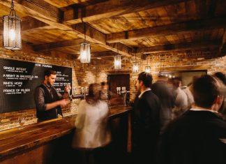 The tasting room at 3 Taverns