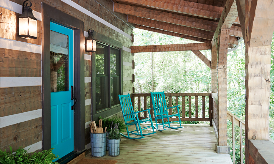 christmas hill sent decor private was cabin in this all rustic mars cabins north renters the ski lodge carolina rental