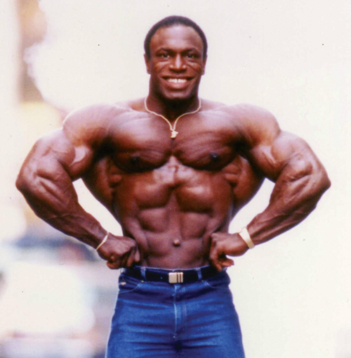 Eight-time Mr. Olympia Lee Haney returns to the site of