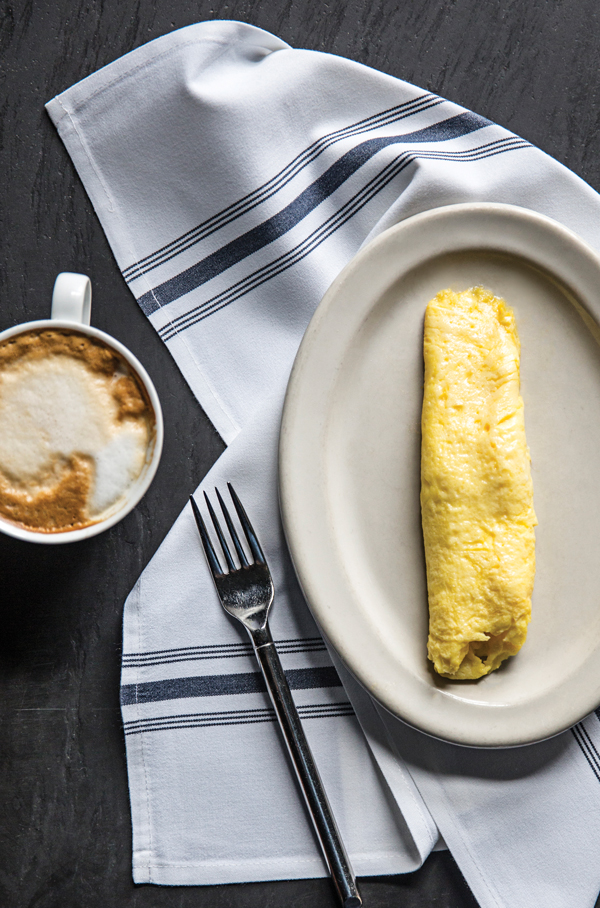 Technique: Holeman and Finch's Linton Hopkins on French rolled omelets