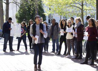 Emory University Donald Trump protest