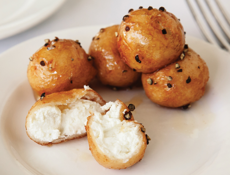 Fried goat cheese Ecco