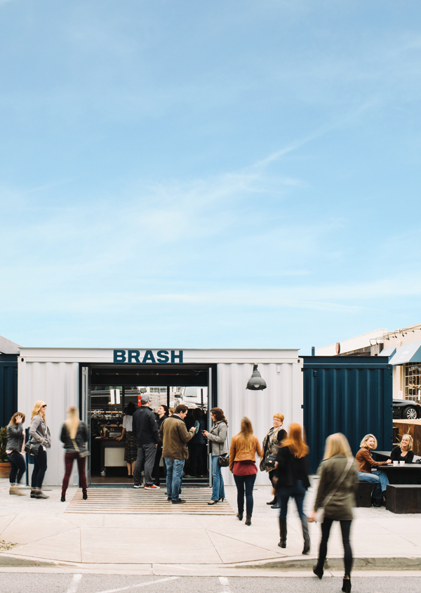 Where to get coffee in Atlanta Brash Coffee