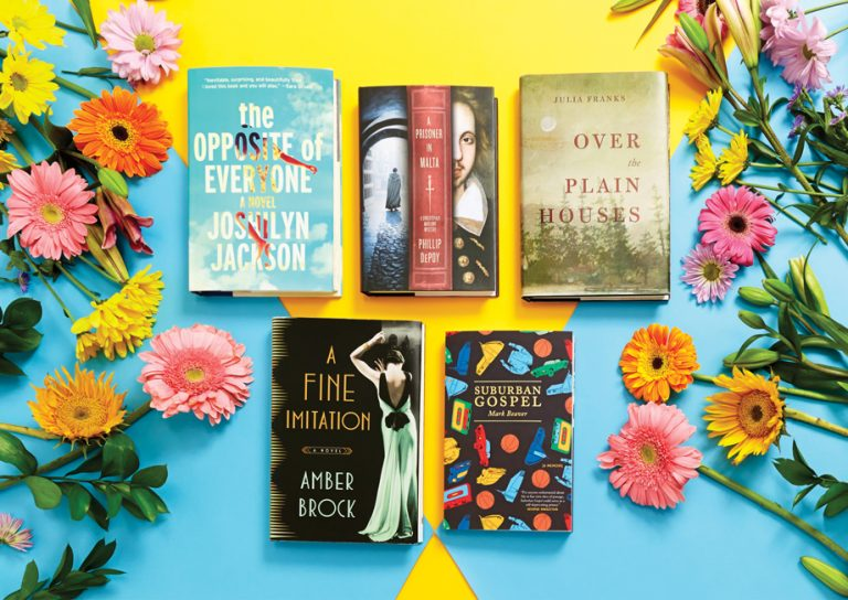 Spring reading: 5 new books by Georgia authors to toss in your suitcase