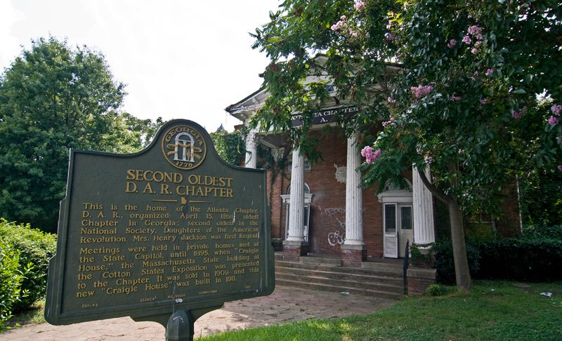 Historic DAR Building In Ansley Park Is Now History