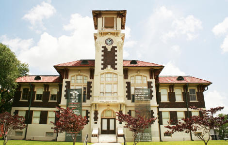 1911 Historic City Hall, Charpentier Historic District