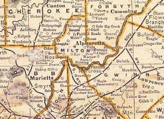 milton-county-map