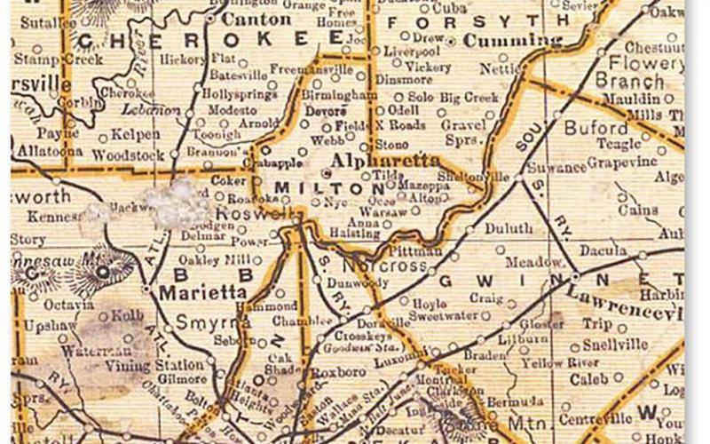 Atlanta Must Reads For The Week Georgias Counties The State - Georgia map duluth