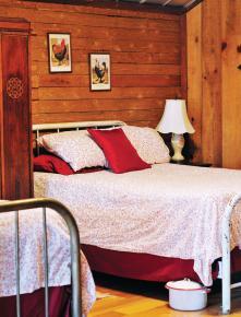 The guest loft, nicknamed