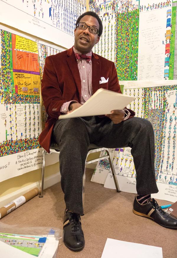 Dapper Bruce Lafitte's folk art honors a New Orleans ...