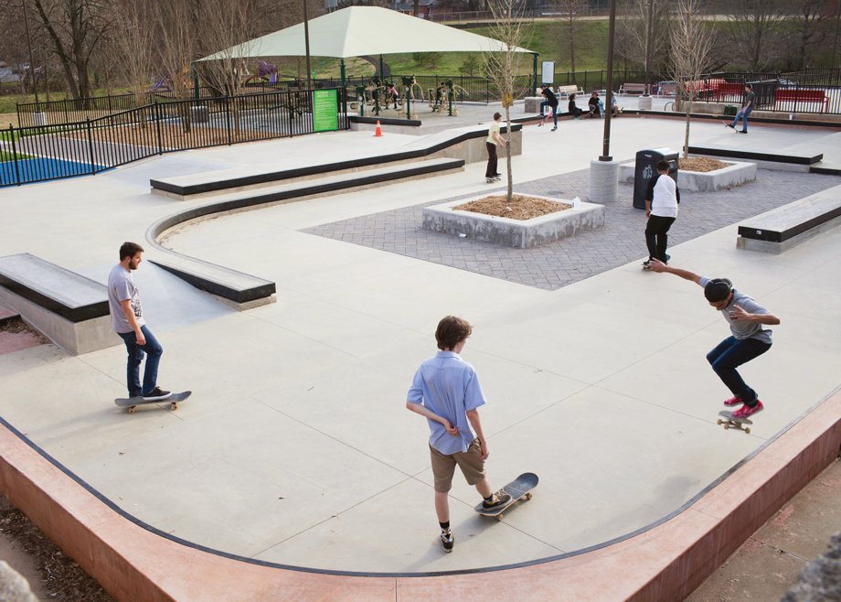 Things to do with kids in Atlanta skate parks