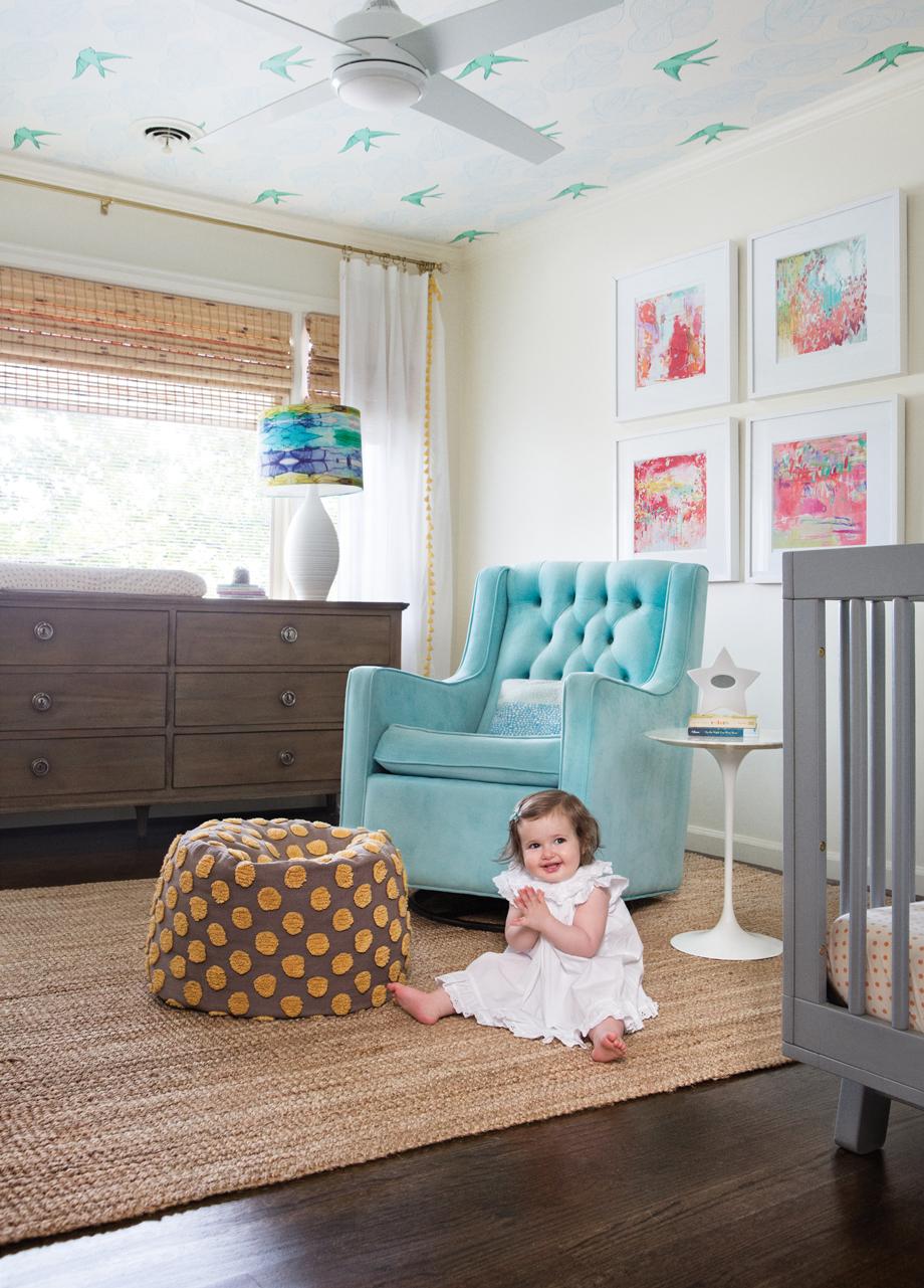 "Modern Baby Boy Room: Room Envy: This Modern Nursery Doesn't Scream ""baby"