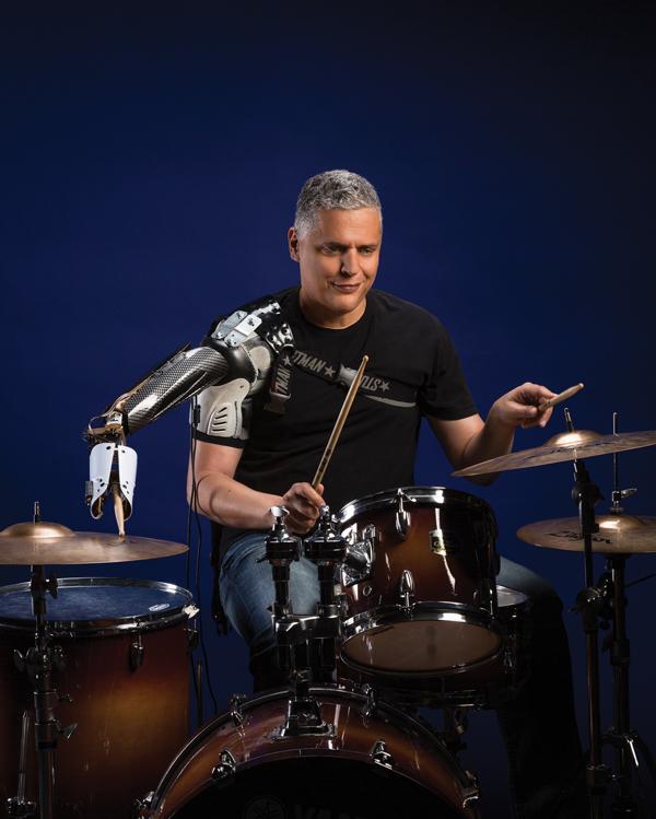 How a Georgia Tech professor created a robotic drumming arm