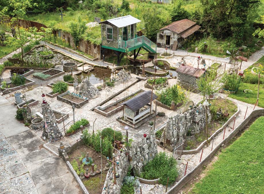 A Drone 39 S Eye View Of Paradise Garden Atlanta Magazine