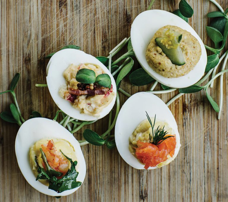 Technique: How to make perfect deviled eggs, from Twain's Savannah Haseler