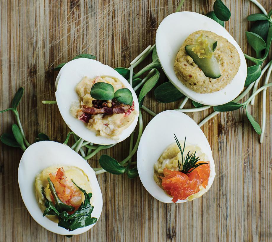 Twain's Savannah Haseler's Deviled Eggs
