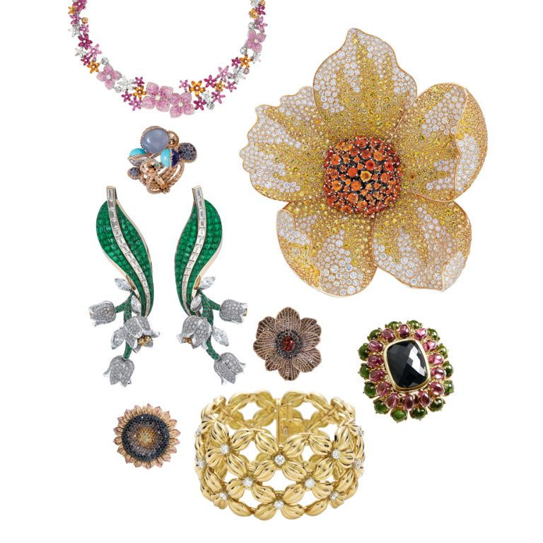8 floral-inspired jewelry pieces perfect for summer