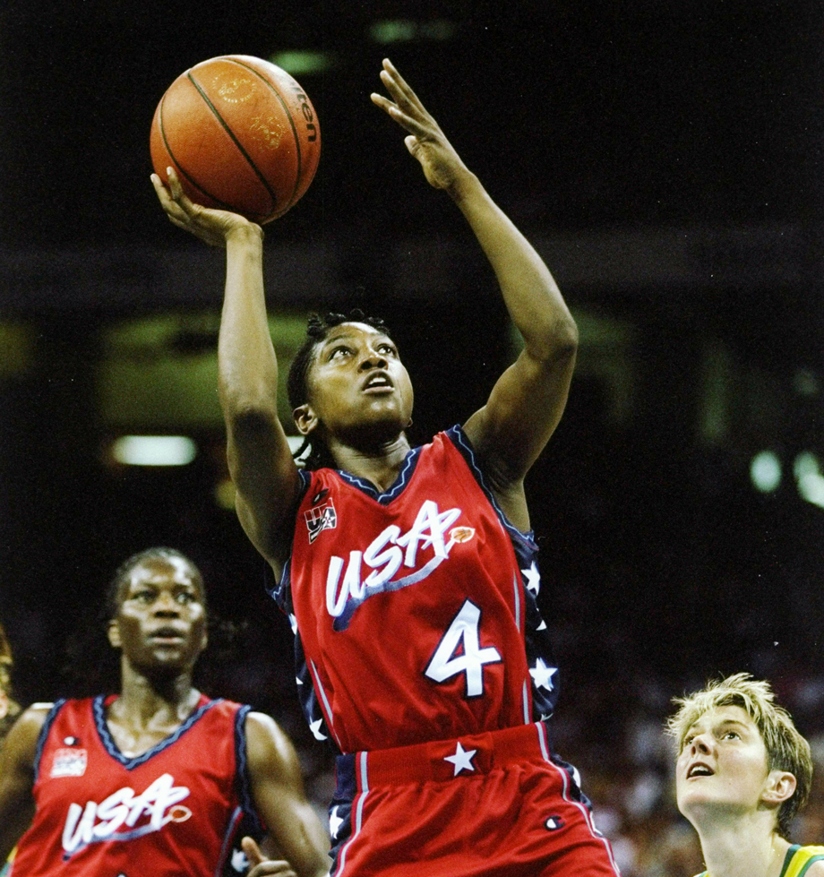 1996 Olympics Teresa Edwards