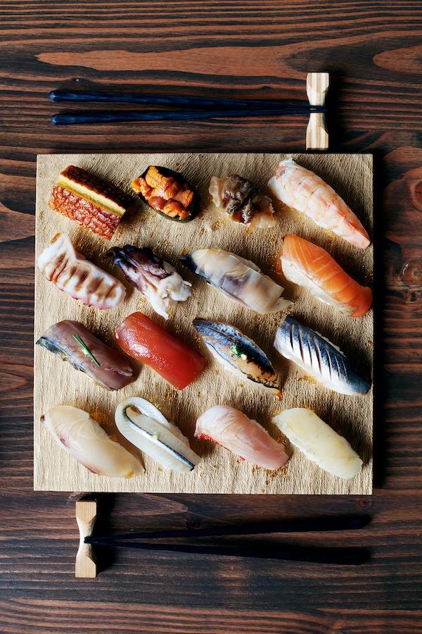 Nigiri at Brush Sushi Izakaya