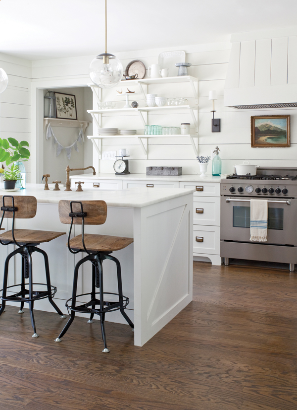 Room Envy A Simple Oil Painting Inspired This Roswell Kitchen Atlanta Magazine