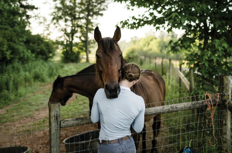 Training unwanted mustangs revived Elisa Wallace's Olympic equestrian dreams