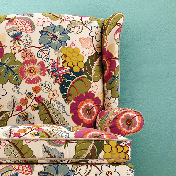 Chair courtesy of Bruce Andrews Design; wall: iStockphoto.com