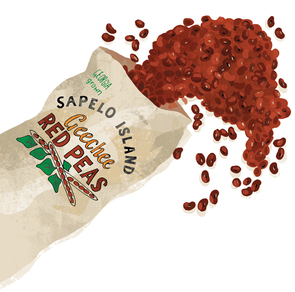 Reviving The Sapelo Island Red Pea