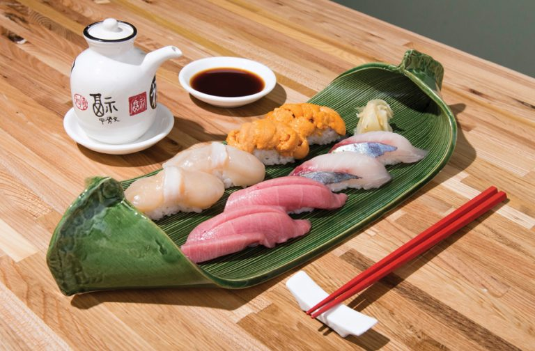 Review: At Sushi Hayakawa, a masterful chef says sayonara to California rolls
