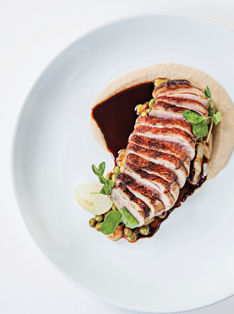 How to saute duck breast