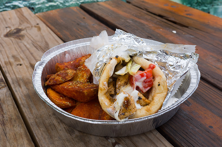 Eat This: Grilled chicken gyros from Nick's Food to Go
