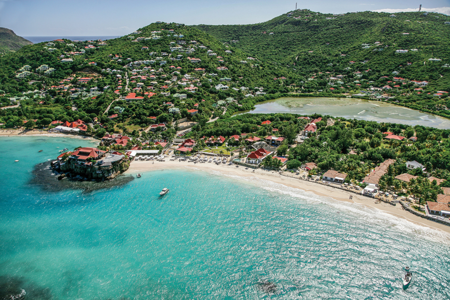 Spotlight on st barts atlanta magazine for Marigot beach st barts