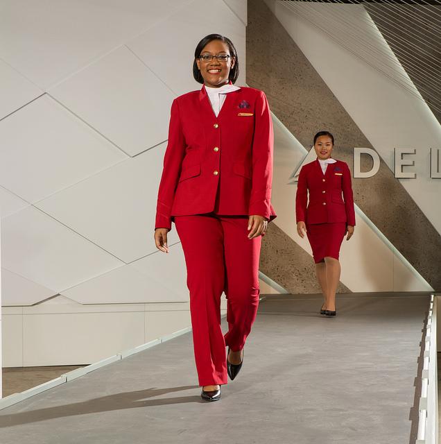 "The Delta ""red coats"""