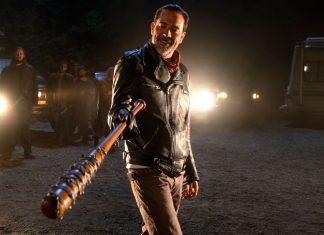 The Walking Dead lego Negan death
