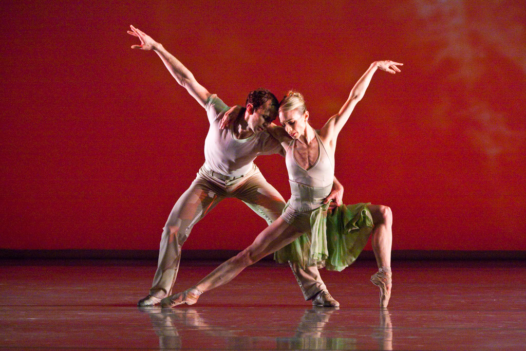 """John Welker and his wife, Christine Winkler, danced together in """"The Four Seasons."""""""